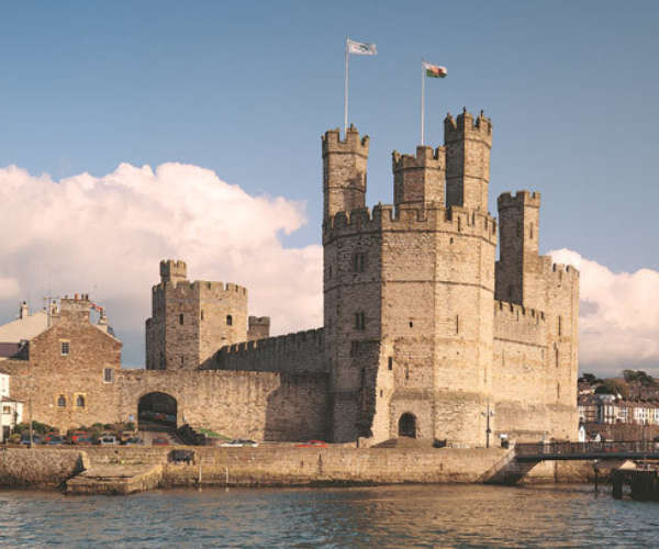 The Majestic Caernarfon Castle